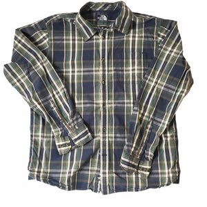 The North Face Plaid Casual Button Down Shirt